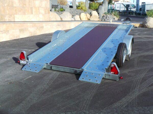 porte voiture basculant 1600 kg 1 essieu