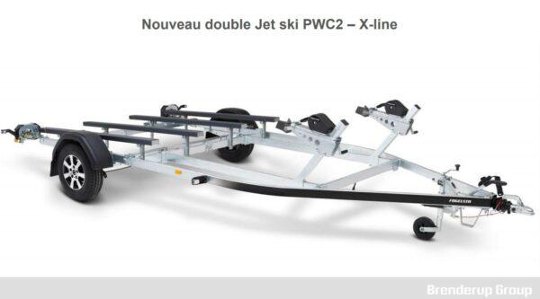 remorque double jet ski